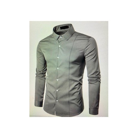 Chemise Manches Longues Slim
